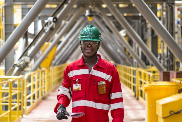 OPS Angola reportage photo entreprise industrielle