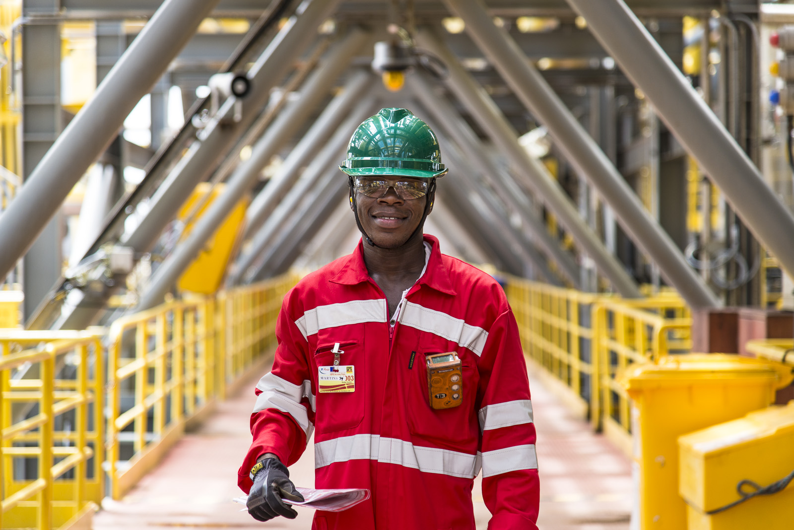 OPS Angola reportage photo entreprise industrielle