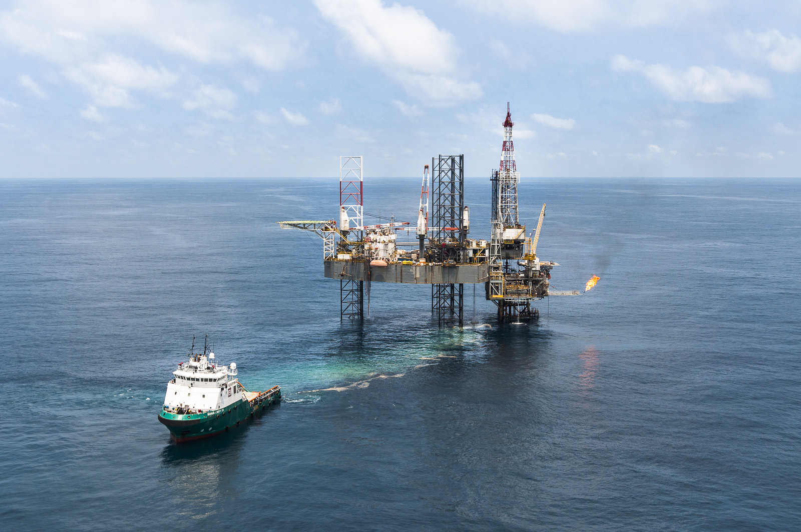 Perenco Gabon reportage photo entreprise industrielle