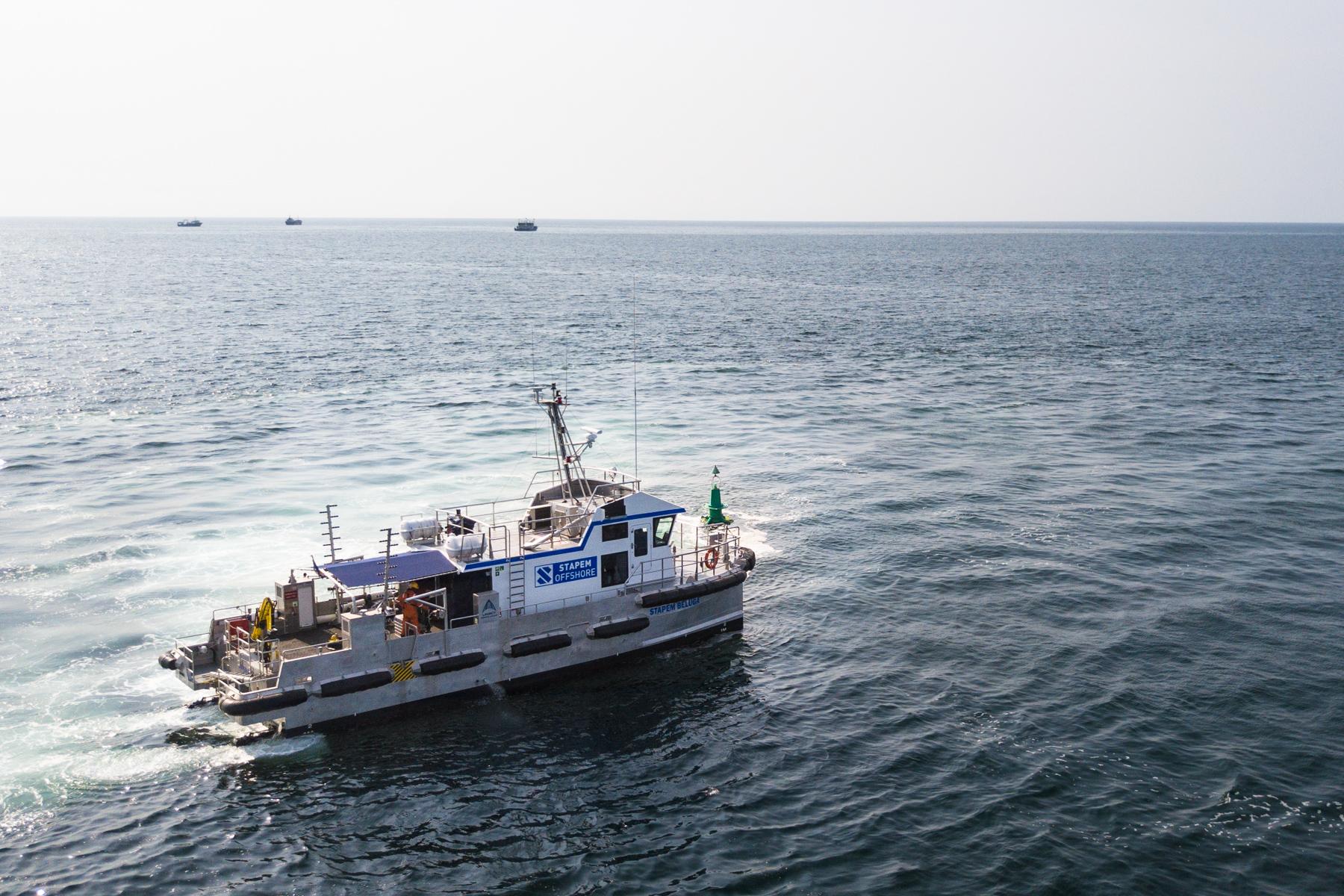 Photos et vidéos drone Stapem Beluga Anne-Laure Seret